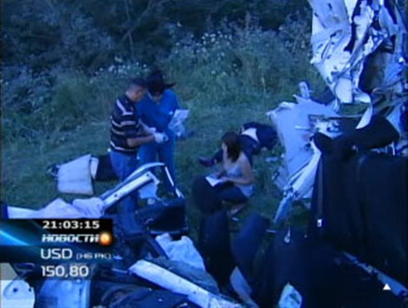 Жертвами аварии в горах близ Алматы стали 11 человек