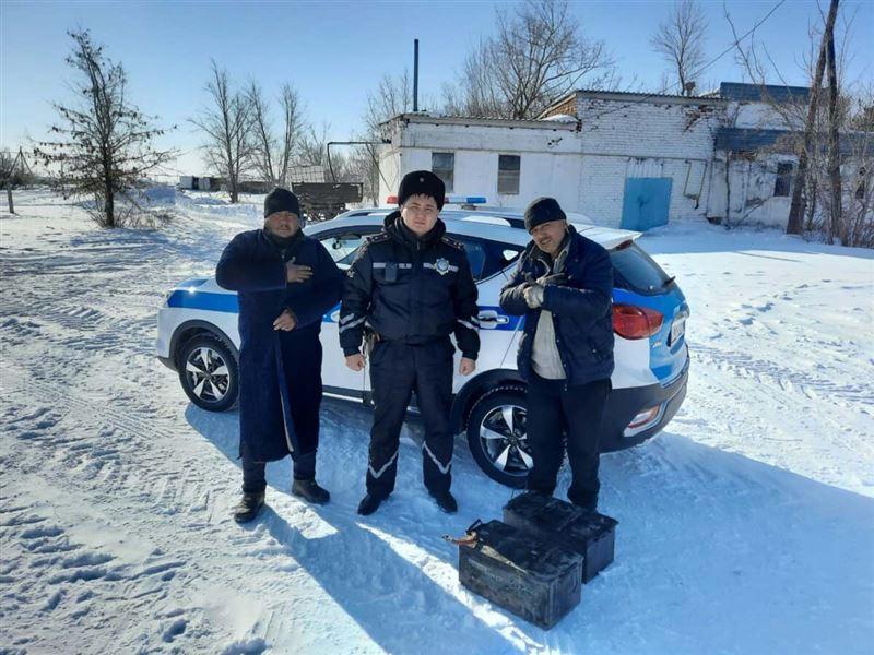 Дальнобойщику из Узбекистана помогли костанайские полицейские