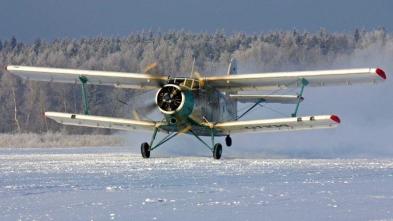 Самолет Ан-2, выполнявший санитарный рейс, совершил вынужденную посадку