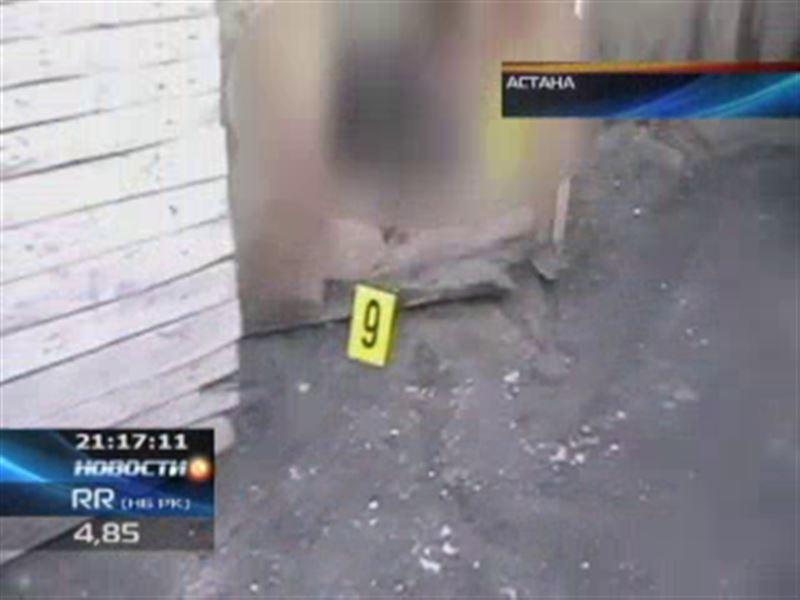 В Астане во дворе дома обнаружен труп женщины