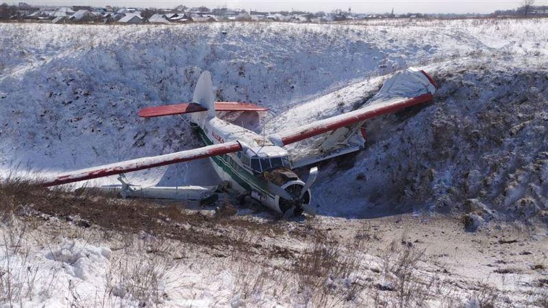 Появились снимки экстренно приземлившегося Ан-2
