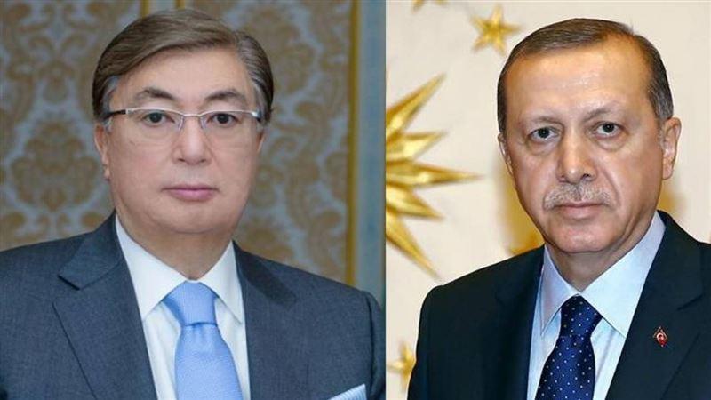 Глава государства поздравил Эрдогана с днем рождения