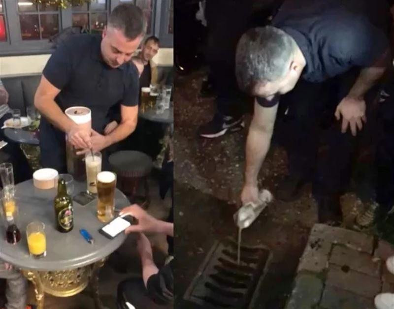 Брат и сестра смешали прах отца с пивом и вылили в канализацию