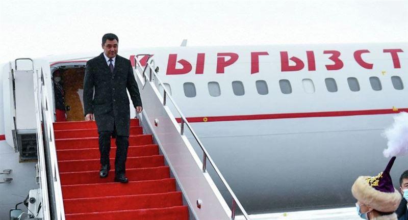 Қырғызстан президенті Нұр-Сұлтан қаласына келді