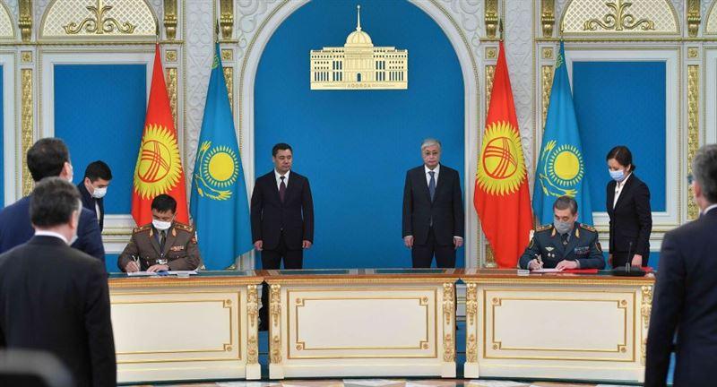 Помощь будет предоставлена военным силам Кыргызстана, заявил Токаев