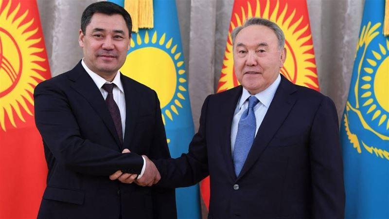 Первый Президент Казахстана встретился с главой Кыргызстана
