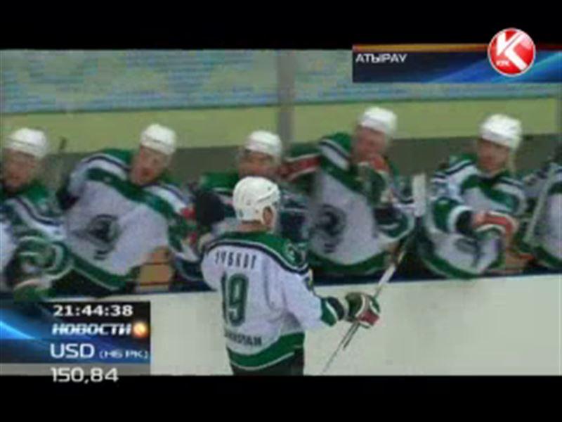 Начались полуфинальные игры чемпионата Казахстана по хоккею с шайбой