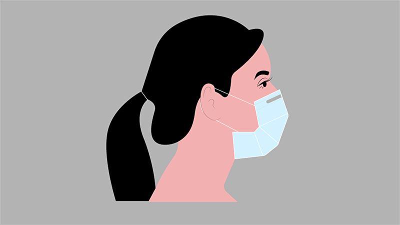 Врач назвала необходимую толщину медицинской маски
