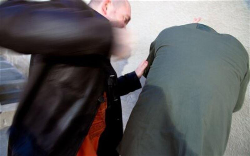 Пьяные хулиганы напали на прохожего в Кокшетау