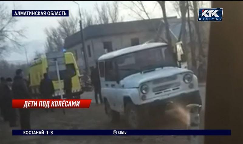 Пьяный водитель сбил четырех школьниц: две из них – в реанимации