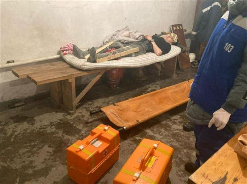 Мужчин завалило в шахте в Акмолинской области