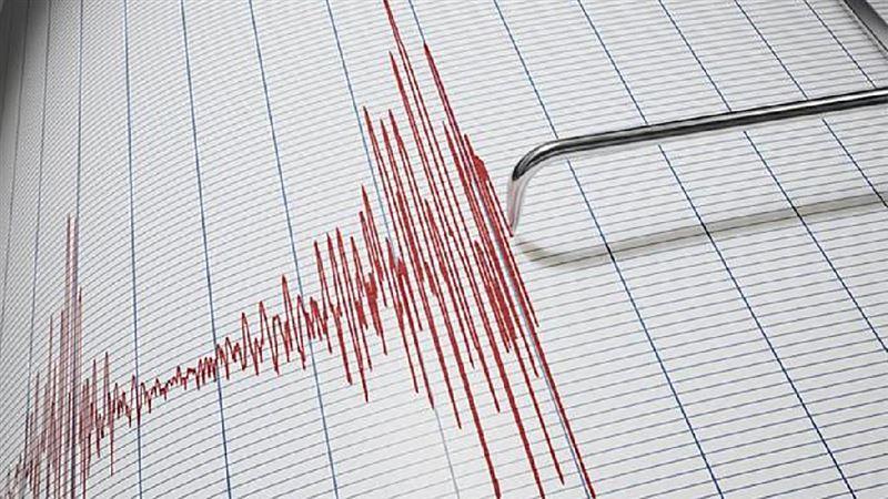 Ночью 5 марта в 341 км на юго-восток от Алматы произошло землетрясение