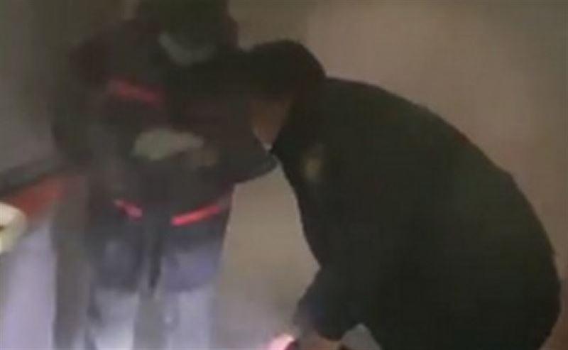 Пожар со взрывом произошел в больнице Актау