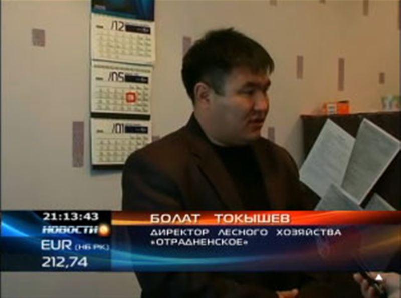 Начальника природоохранной полиции Акмолинской области подозревают в том, что он избил лесника