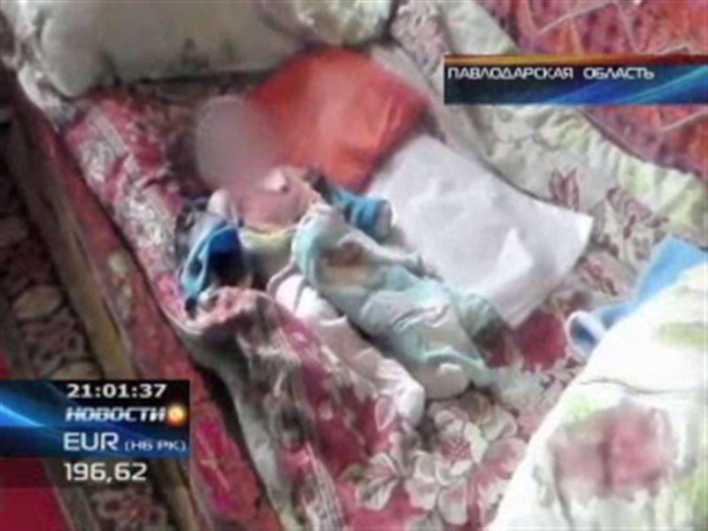 В Павлодарской области мать зарезала своего новорождённого ребенка и ранила старшего сына