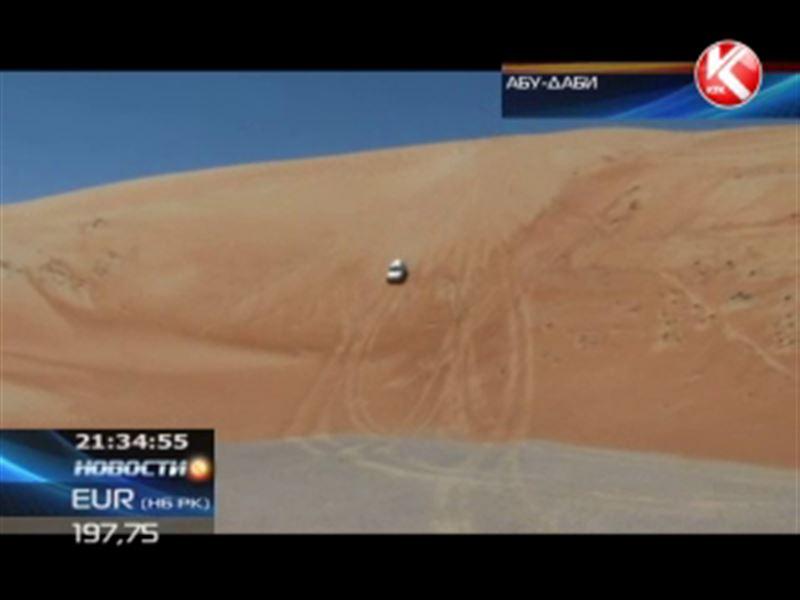 Пять казахстанских внедорожников продолжают борьбу за медали на международном ралли «Абу-Даби челлендж»