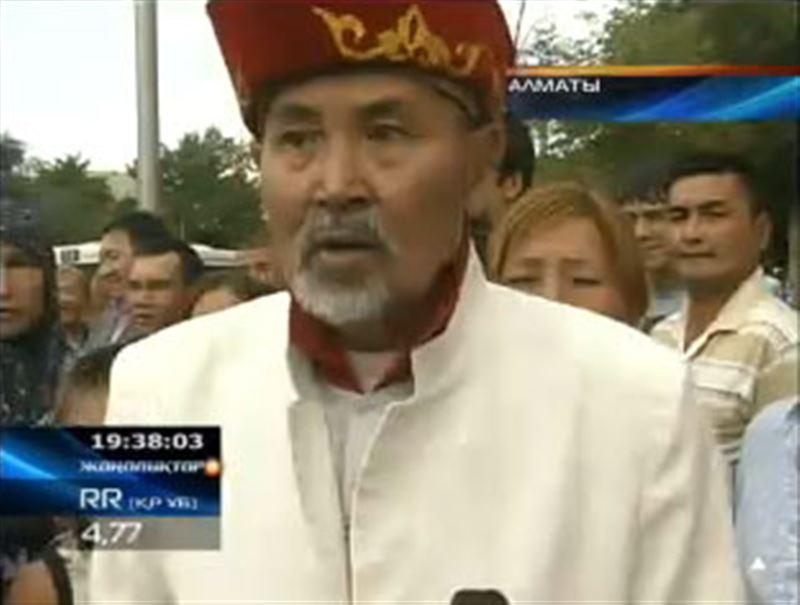 Место торговли в центре Алматы стало причиной спора продавцов с городскими властями