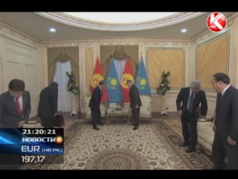 Алмазбек Атамбаев прибыл в Астану с рабочим визитом