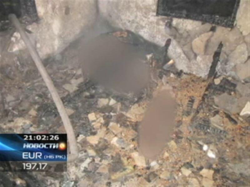 В Павлодаре сгорел притон