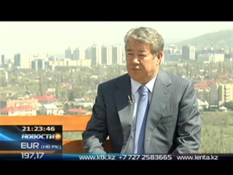 В воскресенье на КТК смотрите эксклюзивное интервью с акимом Алматы