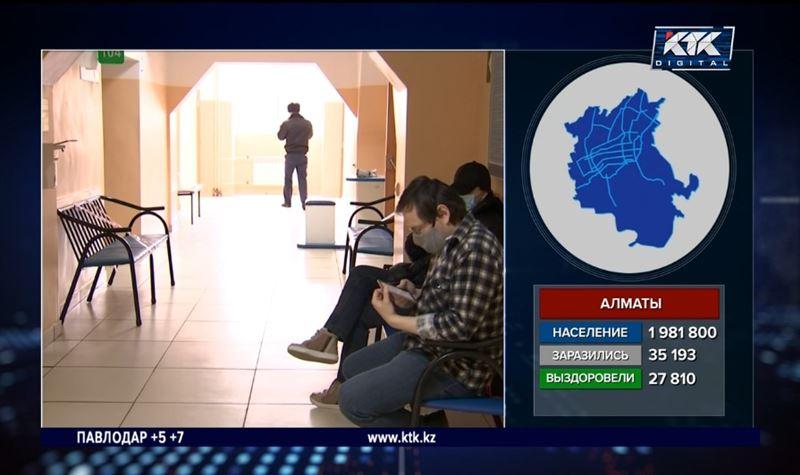 В Алматы стартовала всеобщая вакцинация от ковида