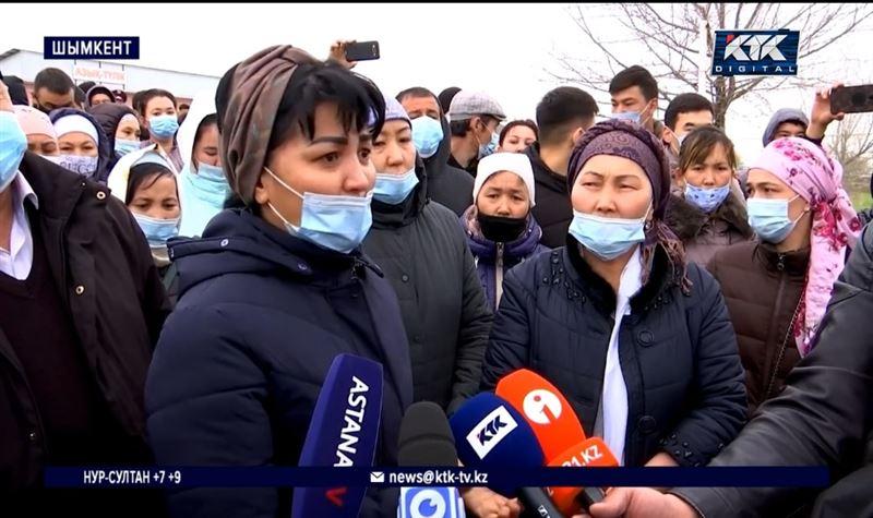 «Избивали нас, детей всех увезли»: работники завода вышли на акцию протеста
