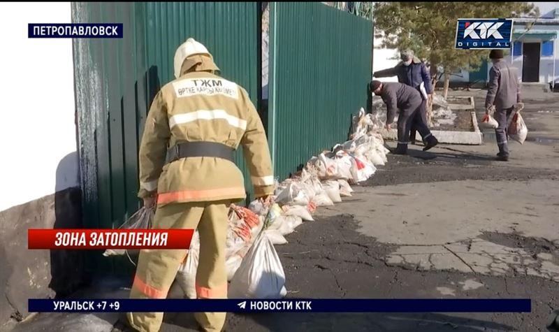 Колонию в Петропавловске может отрезать от города водой