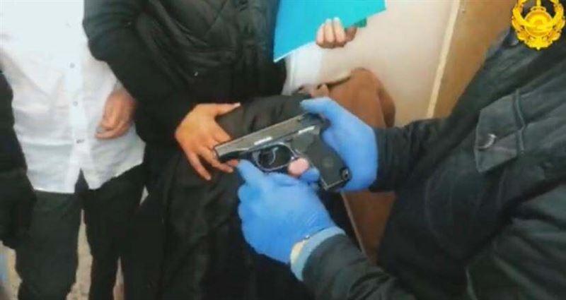 Мужчина с оружием и героином задержан в Актау