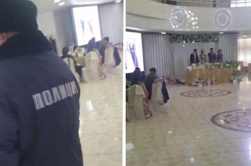 В столице во время карантина проводили свадебное торжество на 150 человек