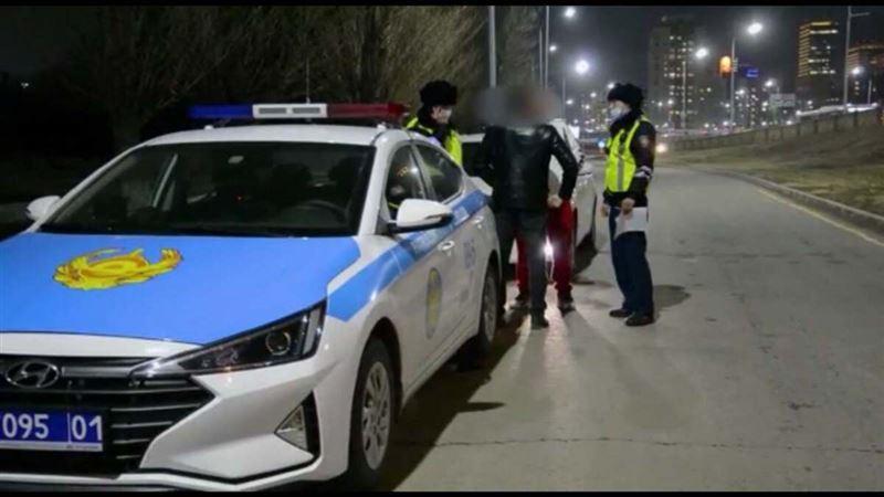 Полицейские Нур-Султана выявили автомобиль с подложными номерами