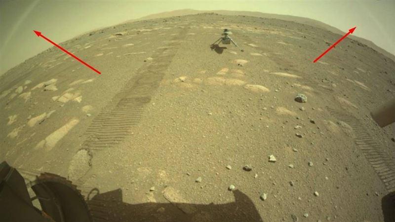 Явление, которое считалось невозможным, заметили на Марсе