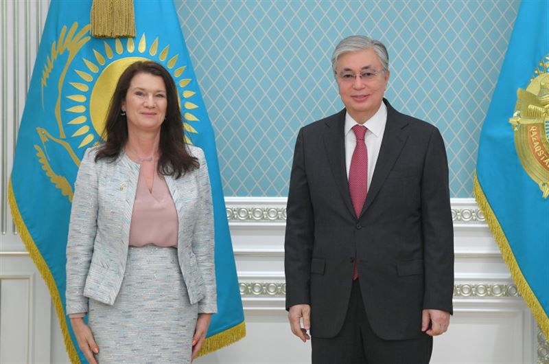 Тоқаев Швецияның Сыртқы істер министрін қабылдады