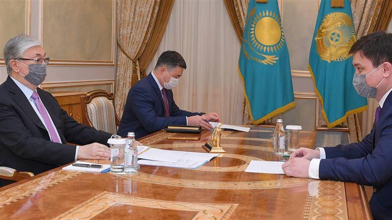 Что поручил Токаев министру нацэкономики