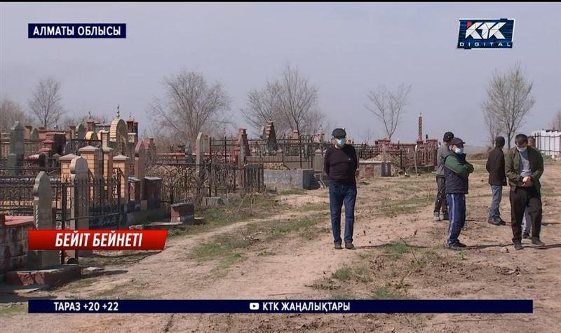 Көксайдағы бейіттердің бір шеті тұрғын үйлерге жеткен – Алматы облысы