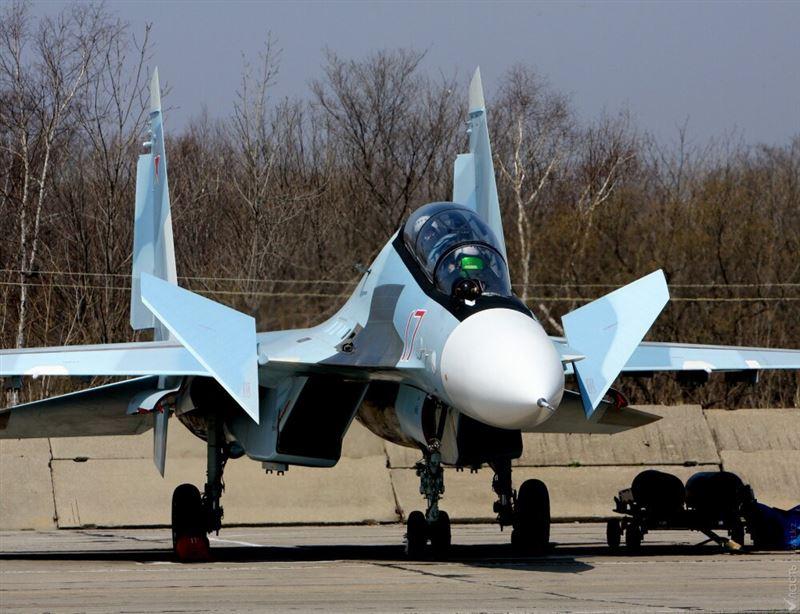 Истребитель Су-30 потерпел крушение в Балхаше
