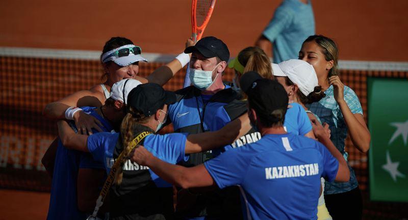 Казахстанская сборная по теннису победила команду из Аргентины