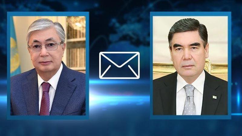 Токаев выразил соболезнование президенту Туркменистана