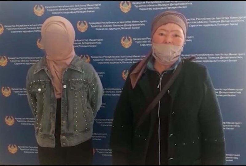 Полицейские Туркестанской области нашли пропавшую 13-летнюю девочку