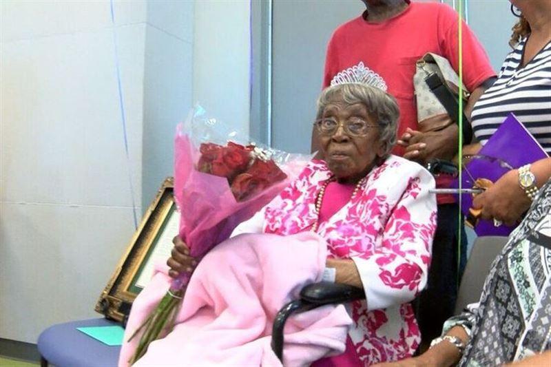 Старейшая жительница США Хестер Форд скончалась на 116-м году жизни