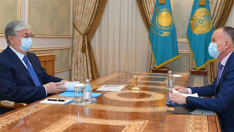 Выборы акимов обсудил Токаев с председателем ЦИК