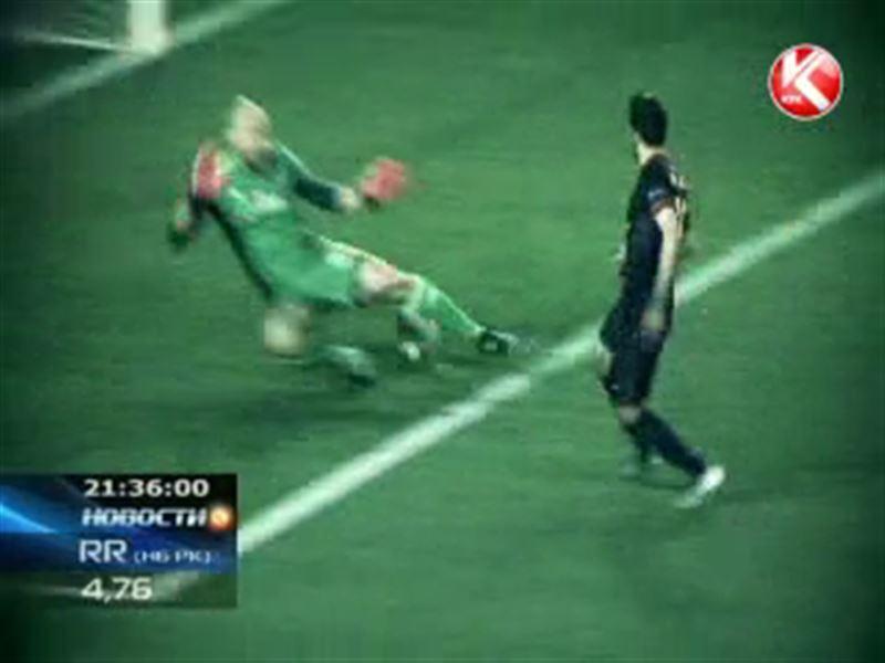 В прямом эфире КТК первый полуфинальный поединок Лиги чемпионов УЕФА