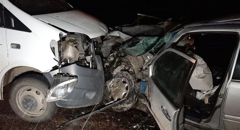 Алматы облысында жантүршігерлік жол апаты екі адамның өмірін қиды