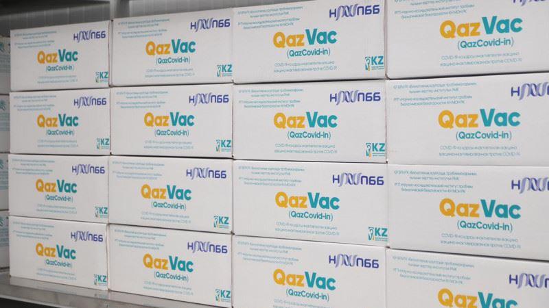 Қазақстандық QazVac вакцинасының алғашқы партиясы жөнелтілді