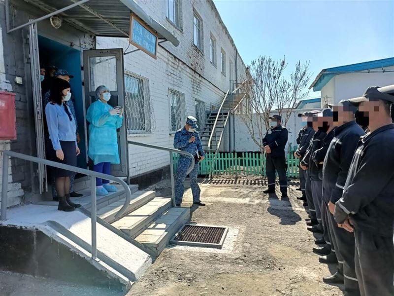 Заключенных в Костанайской области вакцинируют от ковида