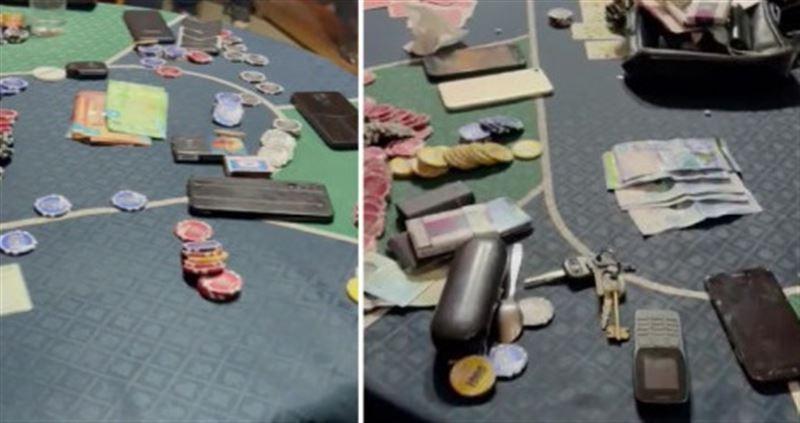 Подпольное казино работало близ автодороги Нур-Султан – Кокшетау