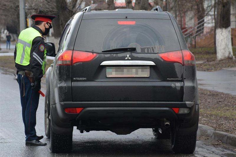 Житель Петропавловска в третий раз попался пьяным за рулем