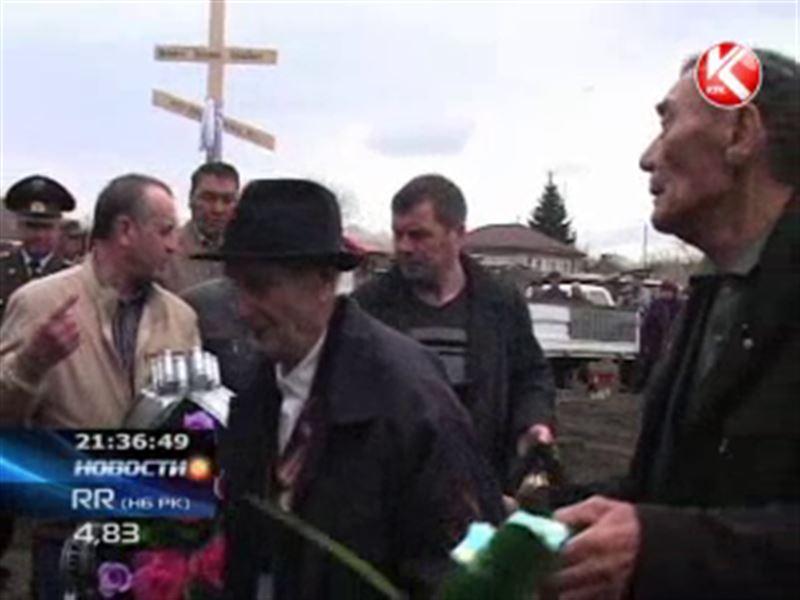 Останки солдата, который погиб в сорок втором, наконец, захоронили