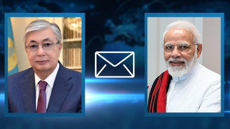 Касым-Жомарт Токаев заявил о готовности оказать помощь Индии