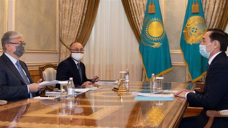Президент Казахстана встретился с заместителем председателя АНК