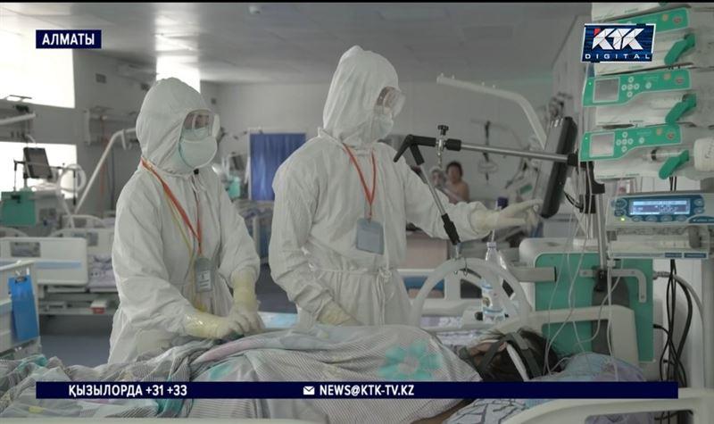 Алматы: Вакцина салдырғандар КВИ қарқынын төмендеткен